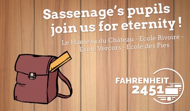 The pupils of Sassenage are joining us !
